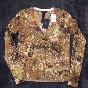 J.Crew Collection Rhinestone Sweater